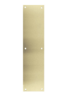 "Don-Jo 71-606- Push Plate 4"" x 16"" x .050  B4E satin brass"