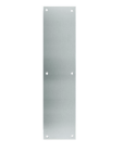 "Don-Jo 71-629- Push Plate 4"" x 16"" x .050  B4E - bright stainless steel"