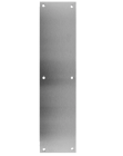 """Don-Jo 71-630- Push Plate 4"""" x 16"""" x .050  B4E  stainless steel"""
