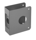 """Don-Jo 8-S-CW-630- Wrap Around Plate 4-1/4"""" x 4-1/2"""" x 1-3/4"""" for 2-3/4""""BS stainless steel"""