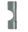 "Don-Jo BLP-107 630- Latch Protector 3-1/4"" x 7"" stainless steel"
