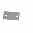 "Don-Jo EF-161 PC- Latch Edge Blankout  2-1/4"" x 1-1/8""   prime coated"