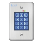 SDC 918 - EntryCheck Indoor - stand alone digital keypad, single entry poup to 500 users/pin, 12/24 VAC/DC