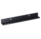 Securitron HEB-1BK-8 - Header Extenstion Bracket - 1x1x8, Black Anodized