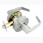 Townsteel - CS 75 S 26D Passage- sentinel bent lever, 234BS 478S, schlage 6 pin, cylindrical lever clutched Grade 2 - satin chrome