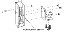 Von Duprin 050493 -  98/9947 Series Bottom Latch Kit Standard