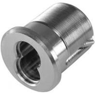 "BEST 1E74C115RP3626 - standard mortise cylinder 1 3/8"", 7 pin, straight cam- satin chrominum"