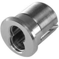 BEST 1E74C256RP5626 - Mortise standard, 7 pin housing, CAM wide cloverleaf, rings 7pin mortise- satin chromium