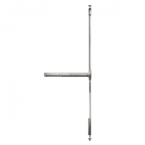 "DETEX 20 x 630 x 36 x 96""- 20 Series Surface Vertical Rod Advantex SVR Panic Device (36""x96"") - Exit Only  - top & bottom rod - satin stainless"