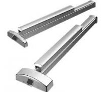 "Precision 3R0 2408 626 -  APEX 36"" narrow stile rim exit device - Exit Only - reversible - Satin Stainless"