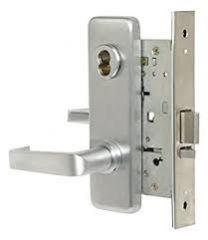 BEST 45H7TA3J626LHRB - TA Dormitory - LESS CORE - Solid Tube Lever (handing required), Wrought Escutcheon - Brushed Chrome
