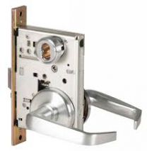"BEST 45H7UNT3H626 - Universal Deadbolt-LESS CORE-solid tube/ return lever, 2-3/4/"" dia. trim-satin chromium"