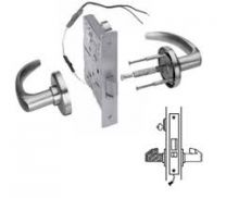 BEST 45HW7DEU15H626LHRQE - Electromechanical Mortise lock-Fail Secure w/ Request to Exit 24V-satin chrome