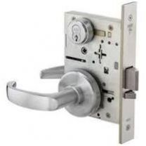 BEST 45HWCADEL626RQE12V - Electrically Locked Mortise Lock Body - 12vdc, Fail Safe w/ request to exit - Satin Chromium
