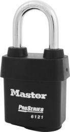Master Lock 6121KALF 1-3/4in (44mm) Wide Laminated Steel Pin Tumbler Padlock with 1-1/2in (38mm) Shackle, Keyed Alike