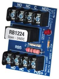 ALTRONIX RB1224  - RELAY MODULE 12V/24 DPDT 5amps 28dc or 5amps 220ac