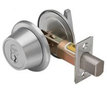 BEST-7T37MSTK626 Double Cylinder Deadbolt-LESS CORE-satin chrome