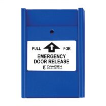 CAMDEN CM-703EDR  1 x N/0 switch + 1 N/C, 'PULL FOR EMERGENCY DOOR RELEASE'