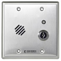 CAMDEN CX-DA400 - Door alarm, with relays, timers, reset key, double gang, 12/24V AC/DC