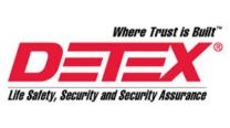 """DETEX 101480-1 - 03 Pull Plate trim, Tailpiece for 2-1/4"""" Thick Doors"""
