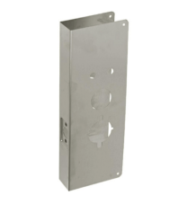 """Don-Jo 27-S-CW-630- Alarm Lock DL2700 Wrap Around Plate 5"""" x 15"""" x 1-3/4"""" for 2-3/4""""BS - stainless steel"""