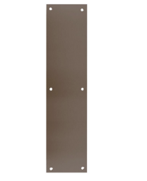 "Don-Jo 70-613- Push Plate 3 1/2"" x 15"" x .050  B4E  oil rubbed bronze"