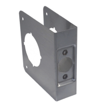 """Don-Jo 81-S-CW-630- Wrap Around Plate 4-3/4"""" x 4-1/2"""" x 1-3/4"""" for 2-3/4""""BS stainless steel"""