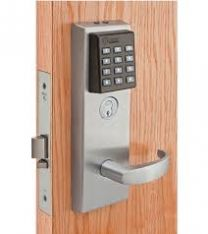 BEST EXZ7EV15 KP626RHRBPH2RM - Keypad EZ exit device trim -LESS CORE-contour angle lever  for Precision 2100