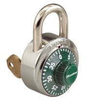 Master Lock 1525GRN Master Combination Padlock - Green