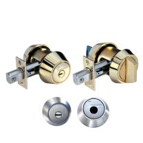 Mul-T-Lock 608B HD1 26 D MT5+ - Deadbolt (single cylinder x thumb turn) - Grade 1 - satin chrome - keyed different