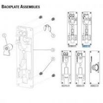 Precision 00832-01 - Backplate Assembly for 2108 exit devices-Precision