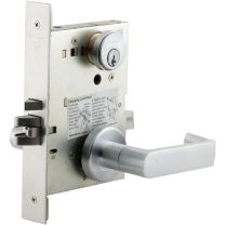 Schlage L9480LB -  Schlage L9480 Mortise Chassis, w/ Deadbolt, Faceplate not included