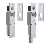 """SDC 2090AU - Failsecure, SDC Spacesaver® Heavy Duty Electric Bolt Lock, Narrow Mortise, 630 Stainless Steel Finish, for 1-3/4"""" Frame. 24vdc"""