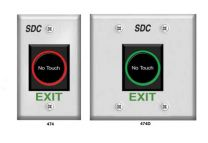 SDC 474U - Touchless Series Exit Switch