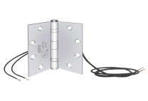 SDC PTH-10Q - Power transfer hinge- 10 conductor, 4.5x4.5, standard weight - 626 dull chrome