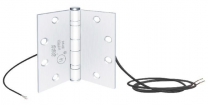 SDC PTH-4Q 4.5X4 - Power transfer hinge- 4 conductor, 4.5x4 , standard weight - 626 dull chrome