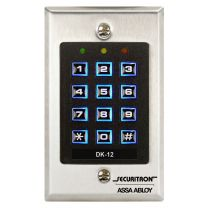 Securitron DK-12 - Digital Keypad System w/ Illuminated keys