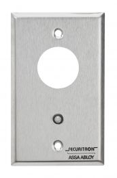 Securitron MKA - Mortise, alternate (on/off) SPDT single gang, without cylinder, 12/24VDC, bicolor LED -