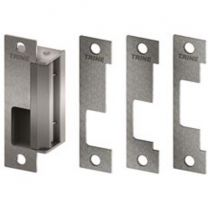 TRINE 4100 32D - Electric strike for cylindrical & mortise locks  - satin stainless steel