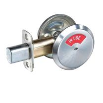 "YALE - D292 626 Occupancy indicator x thumbturn deadbolt - 2-3/4""BS, D243 strike - satin chrome"